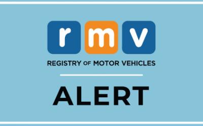 RMV Extends Vehicle Registration Renewal Deadlines